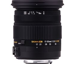 SIGMA 17-50 mm f/2.8 EX DC HSM Standard Zoom Lens - for Sony