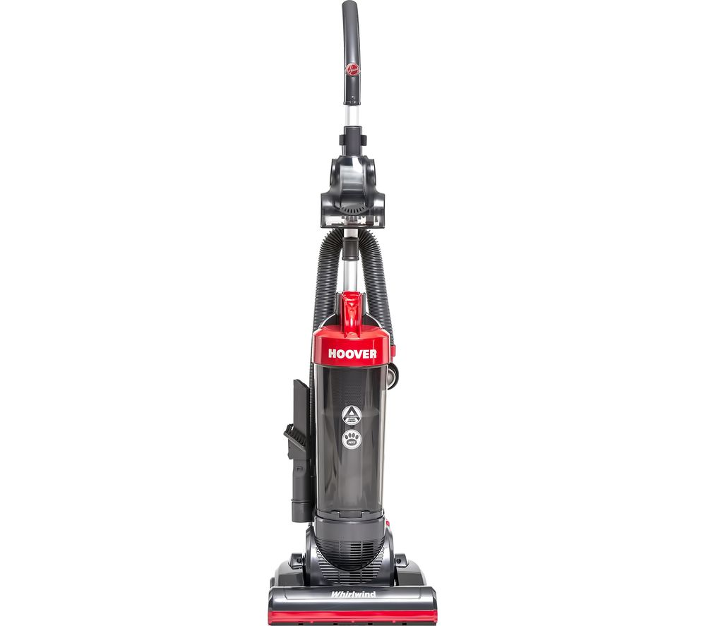 HOOVER Whirlwind WR71 WR02 Upright Vacuum Cleaner - Grey & Red