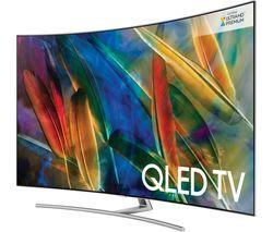 "SAMSUNG QE75Q8CAMT 75"" Smart 4K Ultra HD HDR Curved QLED TV"