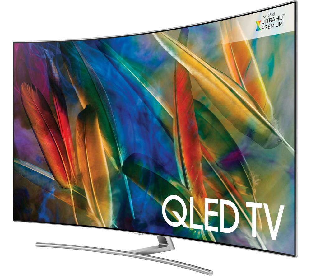 buy samsung qe75q8camt 75 smart 4k ultra hd hdr curved qled tv free delivery currys. Black Bedroom Furniture Sets. Home Design Ideas