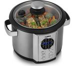 TOWER T16006 Digital Multicooker - Stainless Steel