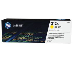 HP 312A Original LaserJet Yellow Toner Cartridge