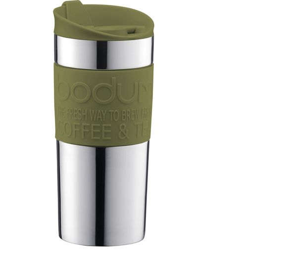 Image of BODUM 11068-947B-Y17 Travel Mug - Olive Green