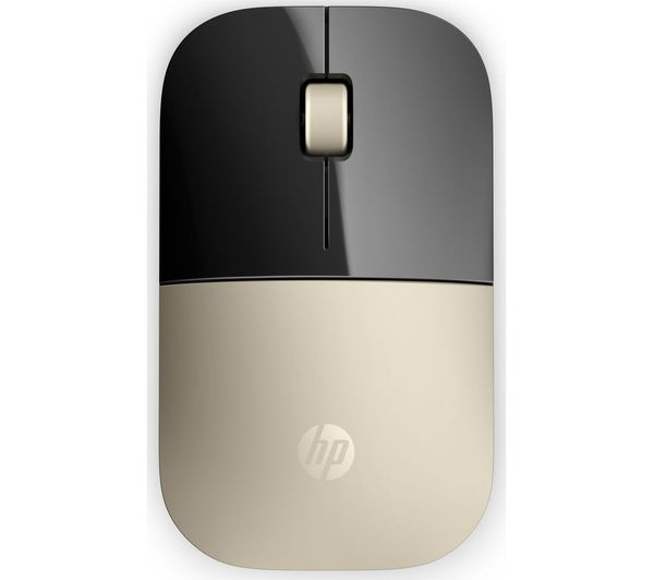 Image of HP Z3700 Wireless Optical Mouse - Gold