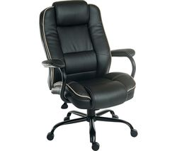 TEKNIK Goliath Duo Bonded Leather Reclining Executive Chair - Black