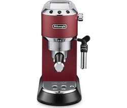 DELONGHI Dedica EC685R Coffee Machine - Red