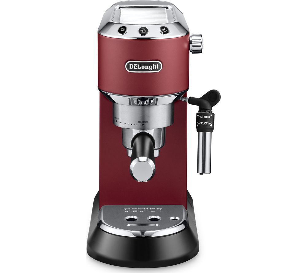 DELONGHI Dedica EC685.R Coffee Machine - Red