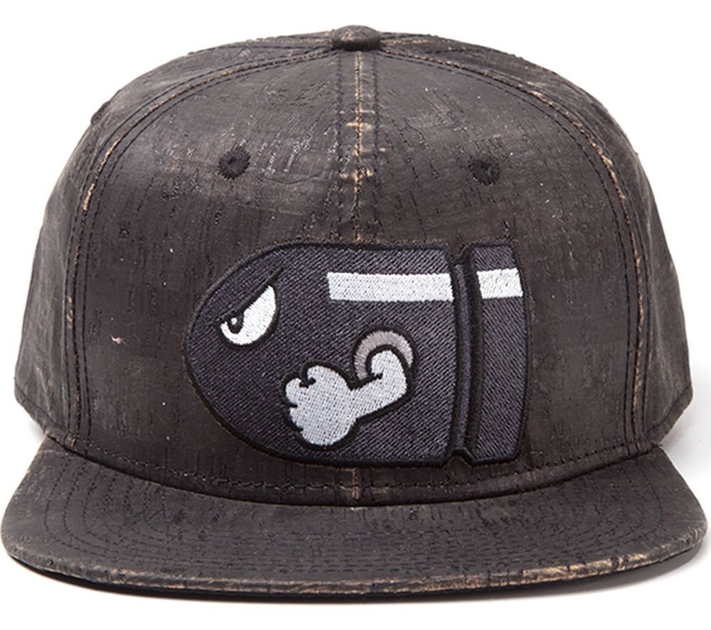 NINTENDO Bullet Bill Snapback Cap - Grey