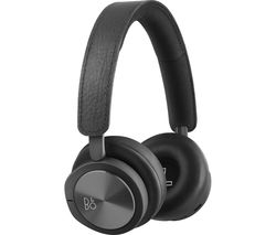 B&O H8i Wireless Bluetooth Noise-Cancelling Headphones - Black