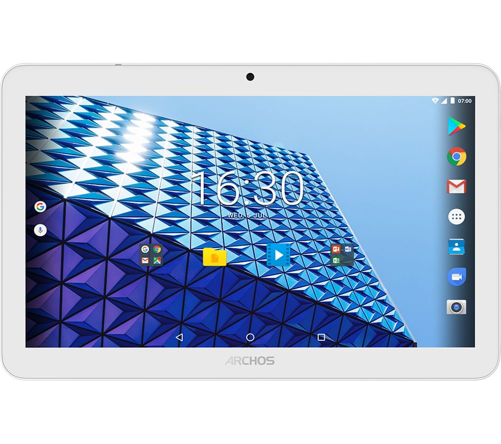 ARCHOS Access 101 3G Tablet - 16 GB, White + LiveSafe Premium 2018 - 1 year for unlimited devices + Cloud Storage for Tablets & Mobiles - 200 GB, 1 year