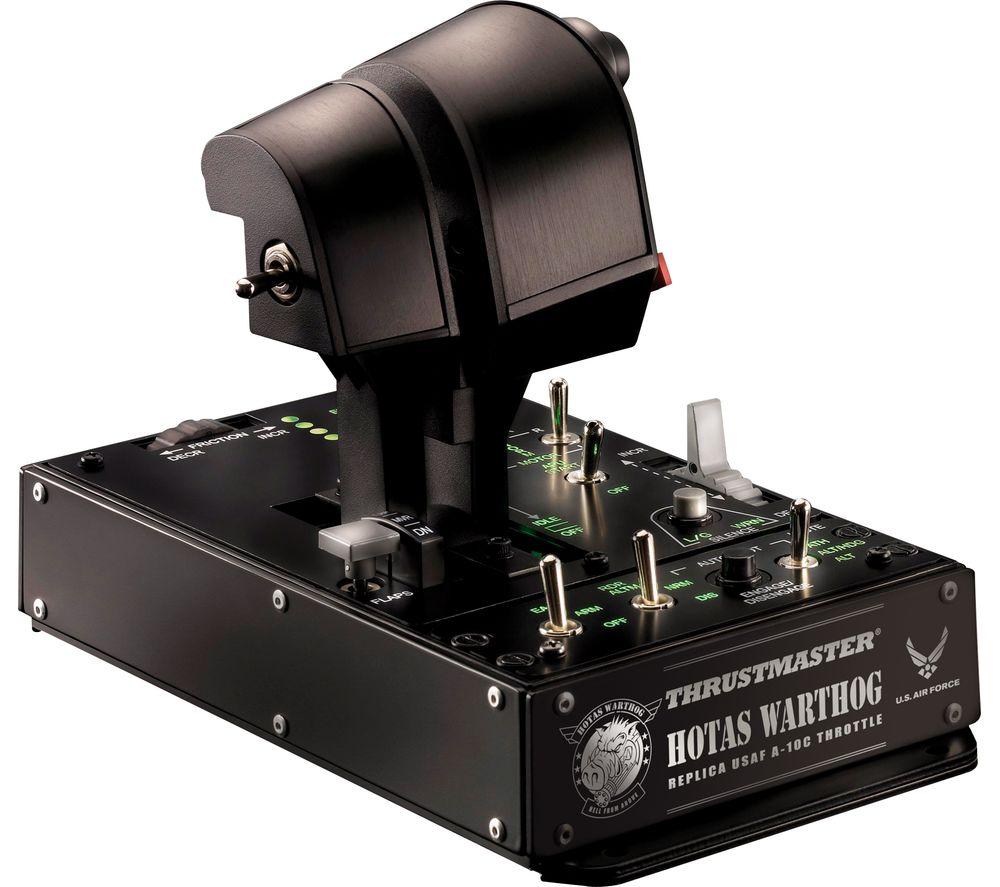 THRUSTMASTER Hotas Warthog Dual Throttles - Black
