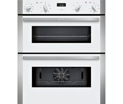 NEFF J1ACE2HW0B Electric Built-Under Double Oven - White