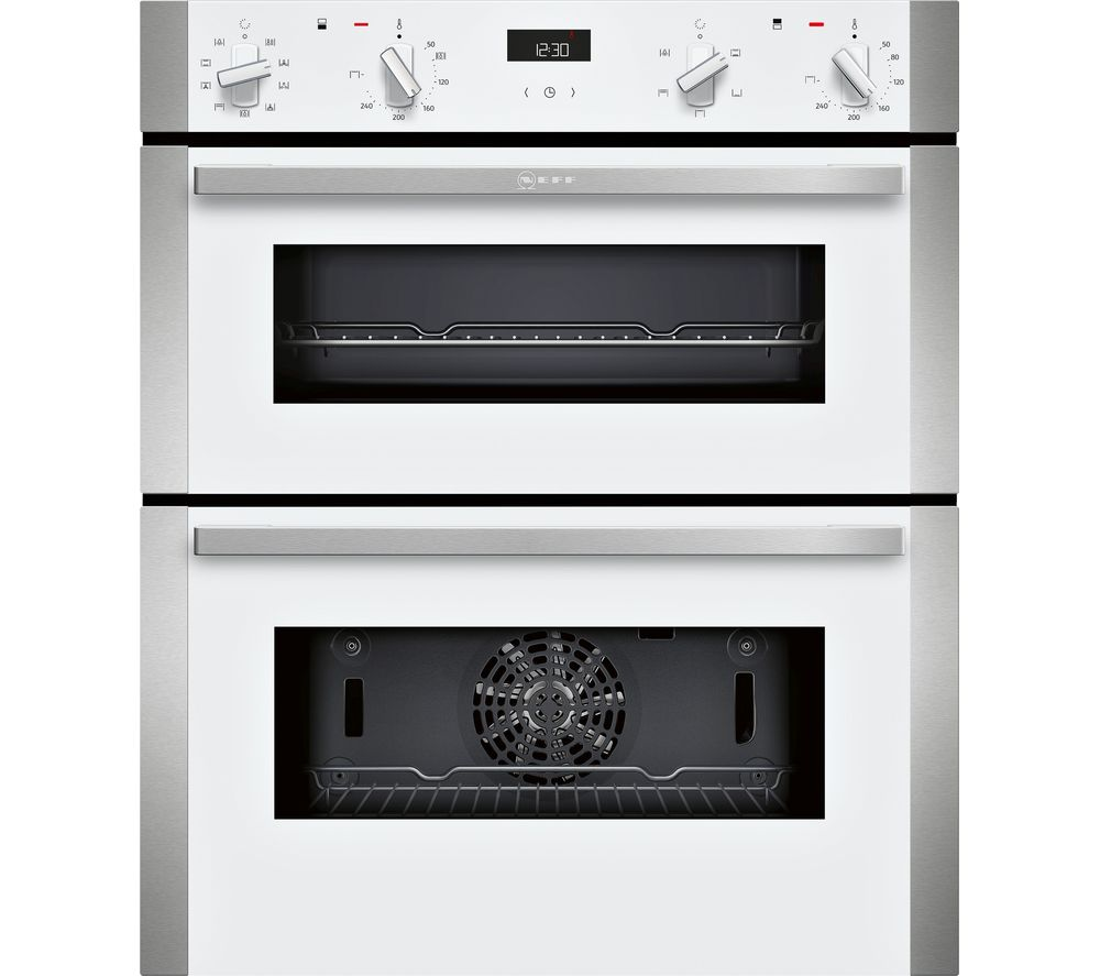 Neff J1ace2hw0b Electric Built Under Double Oven White White