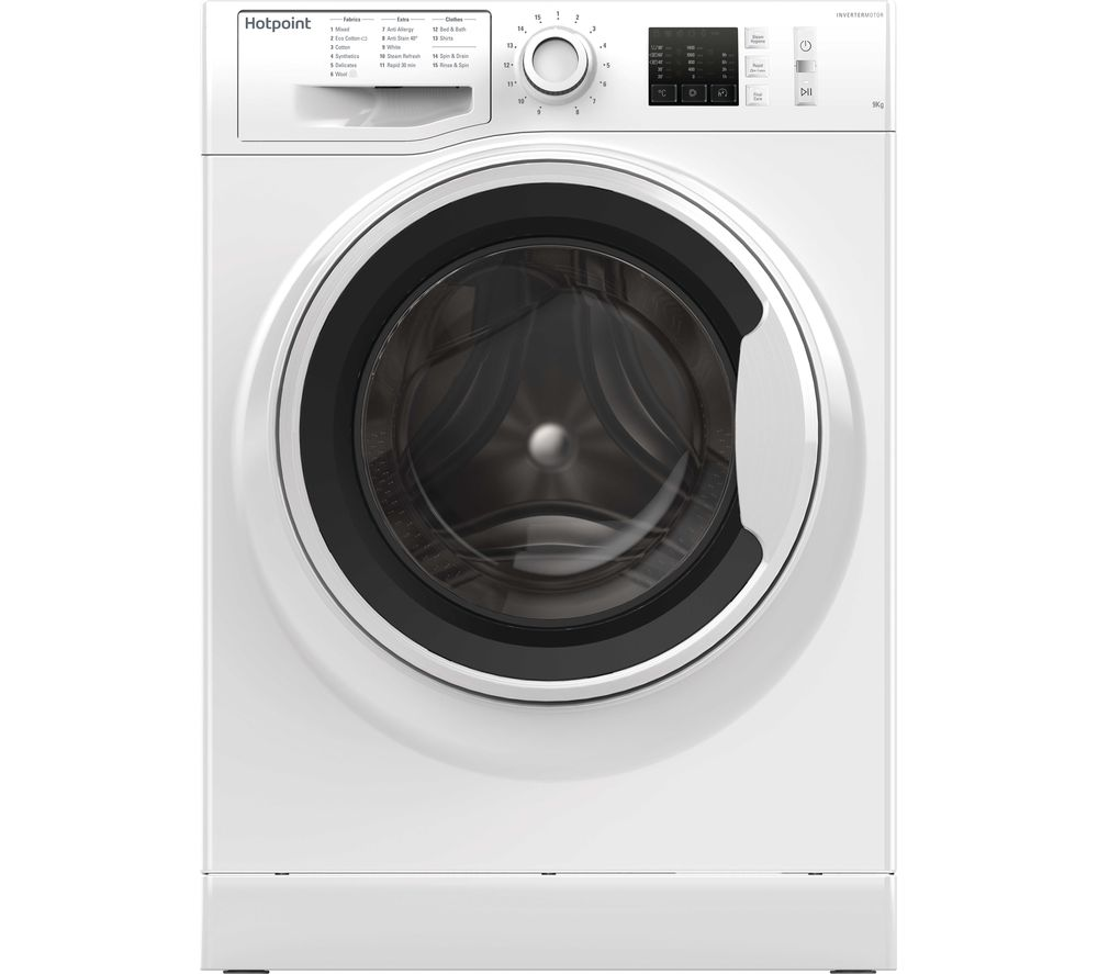 HOTPOINT ActiveCare NM10 944 WW UK 9 kg 1400 Spin Washing Machine - White