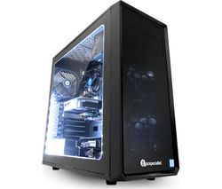PC SPECIALIST Vortex Minerva Plus Intel® Core™ i5+ GTX 1050 Ti Gaming PC - 1 TB HDD