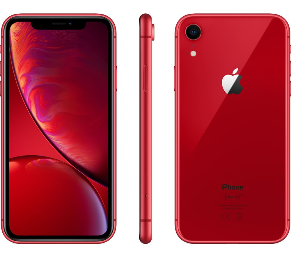 APPLE iPhone XR - 128 GB, Red
