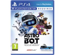PS4 Astro Bot Rescue Mission VR