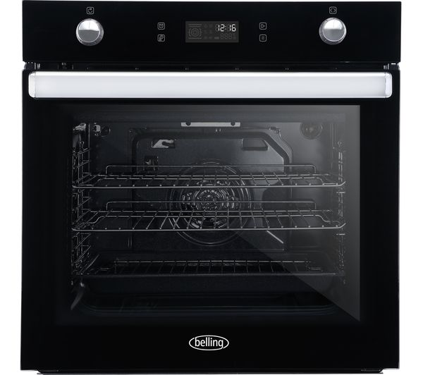 Image of BELLING BI602MFPY Electric Oven - Black
