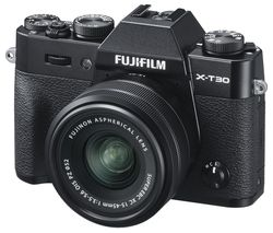 X-T30 Mirrorless Camera with FUJINON XC 15-45 mm f/3.5-5.6 OIS PZ Lens