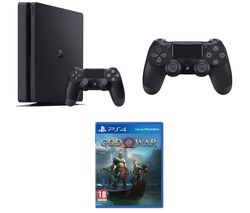 SONY PlayStation 4, God Of War & DualShock 4 V2 Wireless Controller Bundle - 500 GB