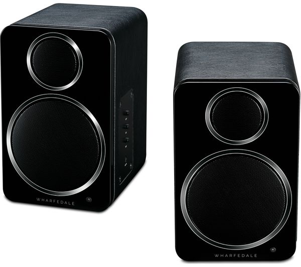 Image of WHARFEDALE DS-2 Active Desktop Bluetooth Speakers - Black
