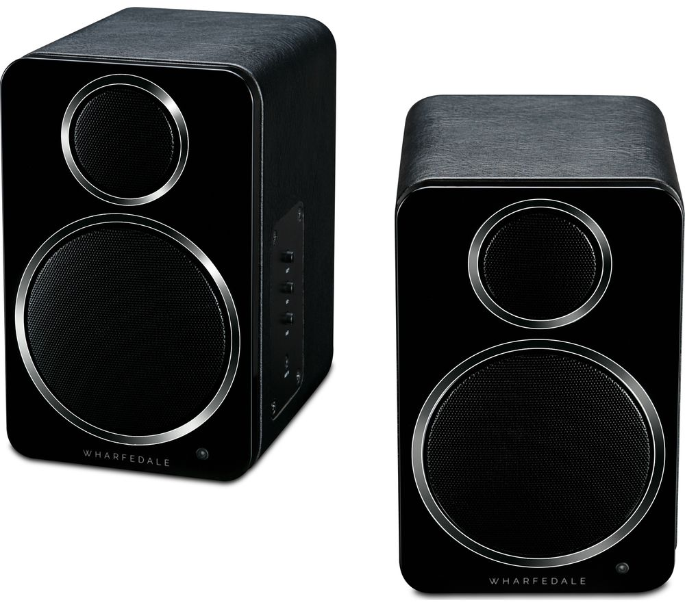 Image of DS-2 Active Desktop Bluetooth Speakers - Black, Black