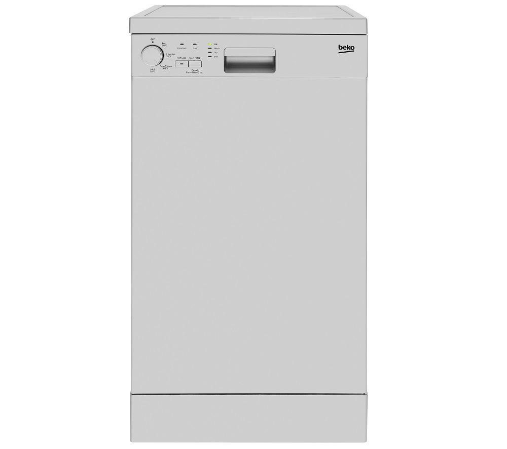 BEKO DFS04010S Slimline Dishwasher - Silver