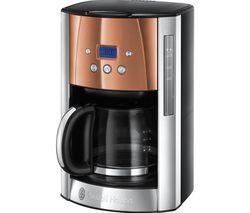 Luna 24320 Filter Coffee Machine - Copper
