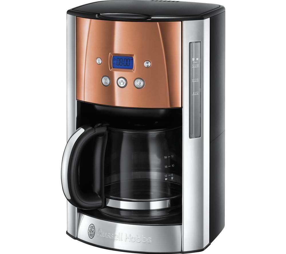 RUSSELL HOBBS Luna 24320 Filter Coffee Machine - Copper