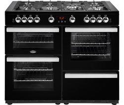 Cookcentre 110G Gas Range Cooker - Black