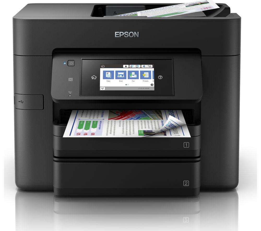 EPSON WorkForce WF-4740 DTWF Wireless Inkjet Printer with Fax