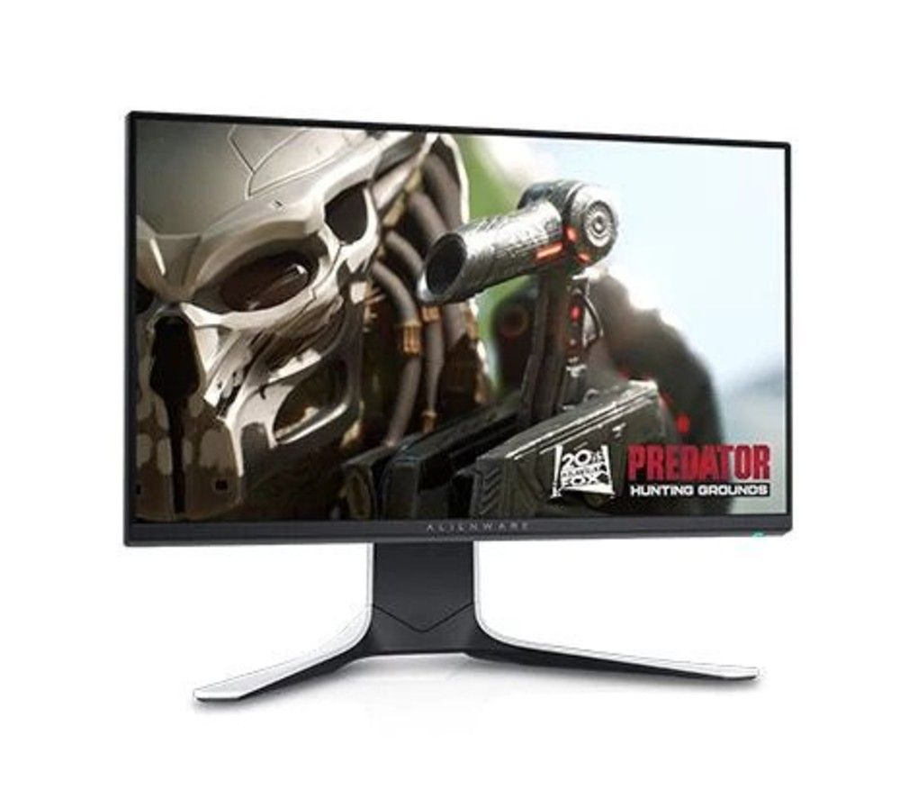 "Image of ALIENWARE AW2521HFLA Full HD 24.5"" LED Gaming Monitor - White, White"