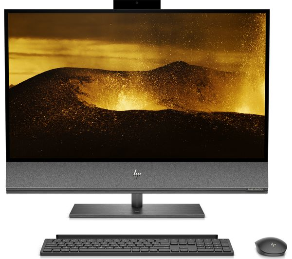 """Image of HP ENVY 32-a1001na 32"""" All-in-One PC - Intel® Core™ i7, GTX 1650, 1 TB HDD & 512 GB SSD"""