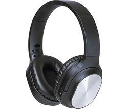 AVS1394 Wireless Bluetooth Headphones - Black & Silver