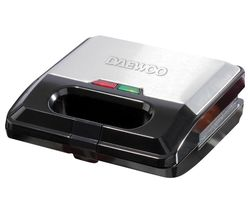 SDA1562 3-in-1 Sandwich Maker - Black & Silver