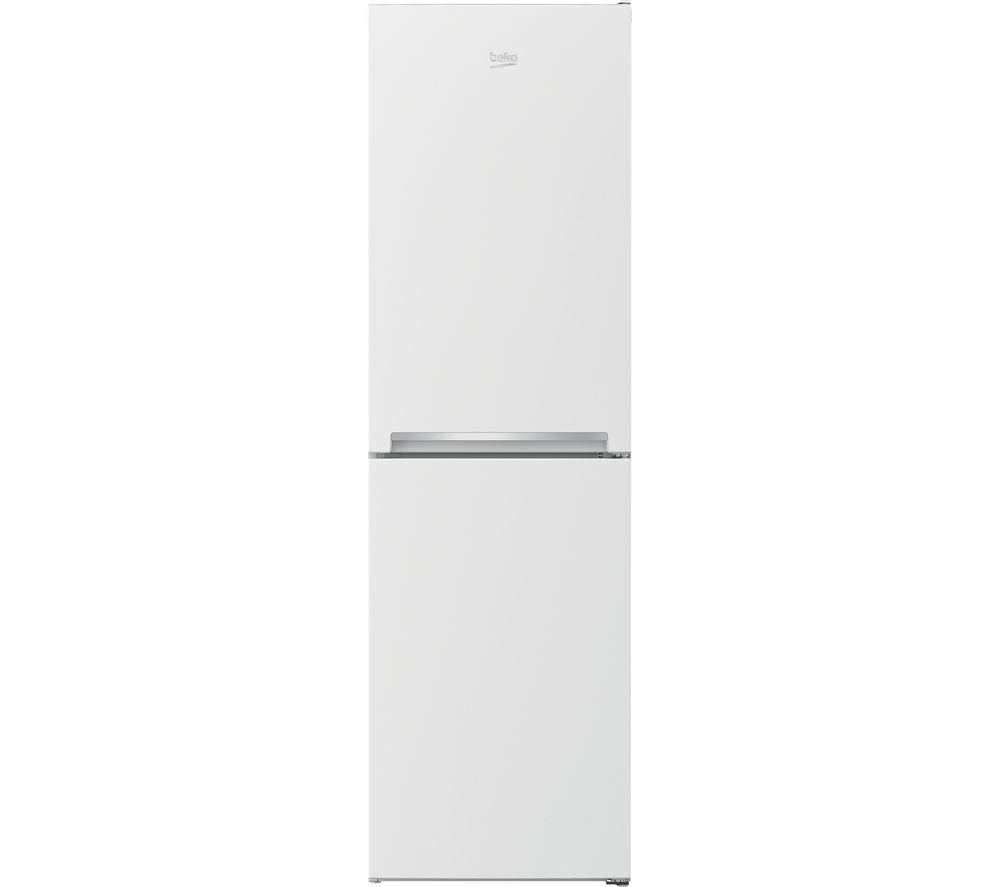 BEKO CSG3582W 50/50 Fridge Freezer - White, White