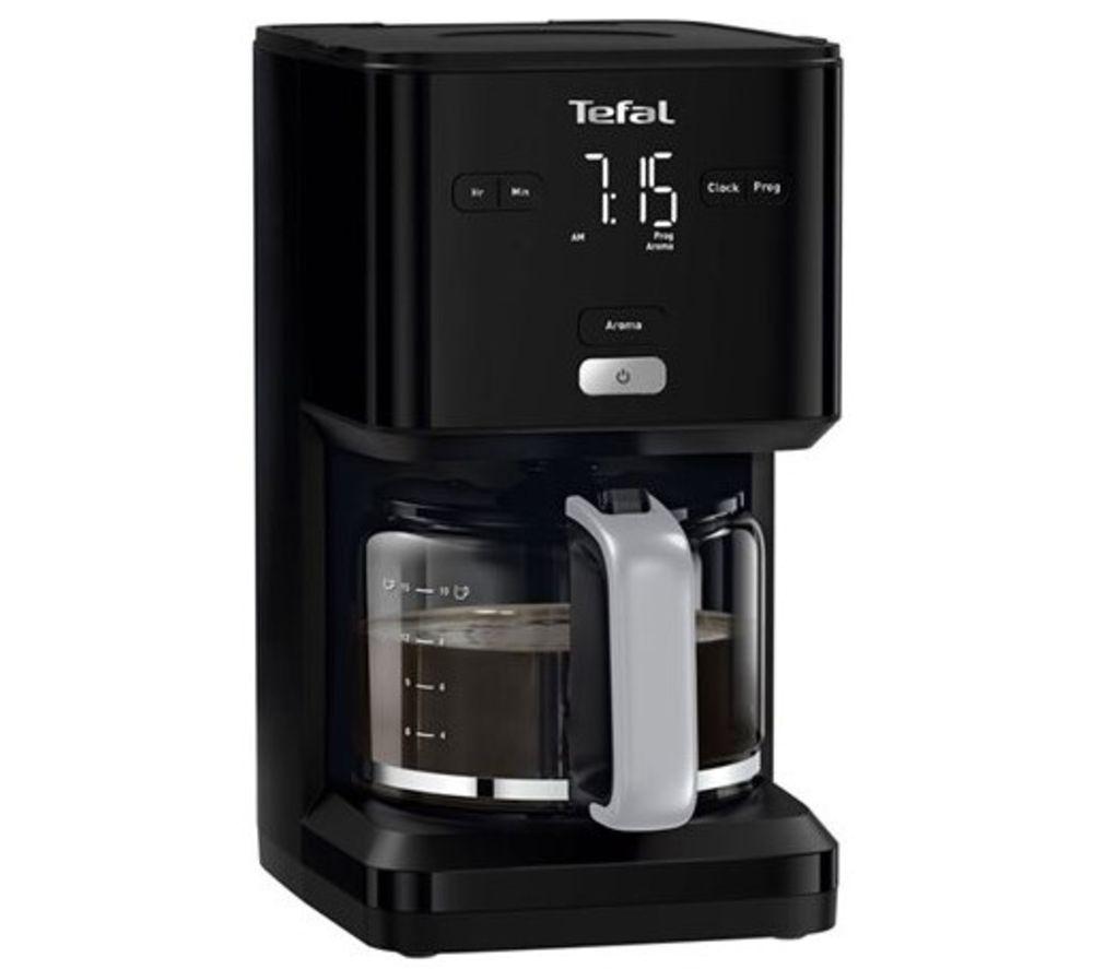 TEFAL Smart N Light Filter Coffee Machine - Black