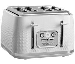 MORPHY RICHARDS Verve 243012 4-Slice Toaster - White
