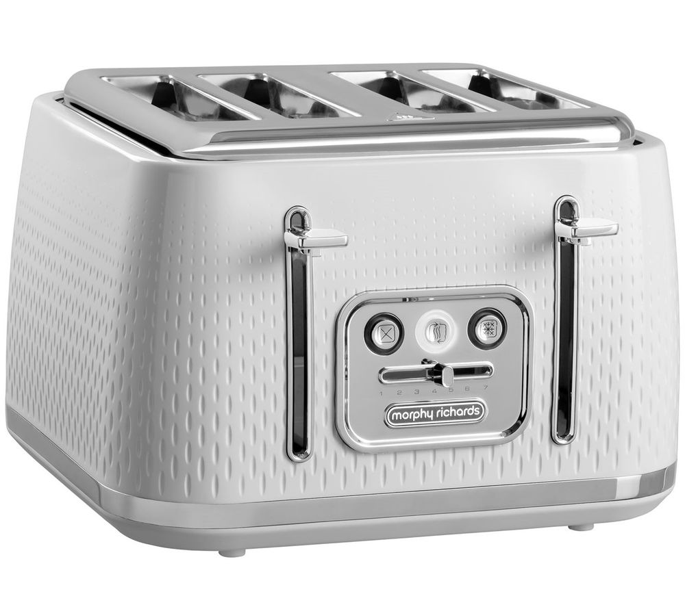 MORPHY RICHARDS Verve 243012 4-Slice Toaster - White