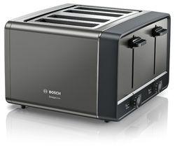 DesignLine TAT5P445GB 4-Slice Toaster – Anthracite