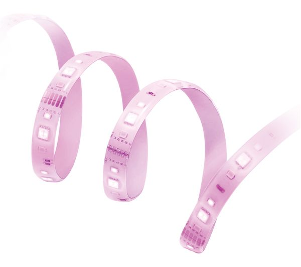 Image of WIZ CONNECTED Colors + Tunable Whites Smart LED Light Strip Extension - 1 m