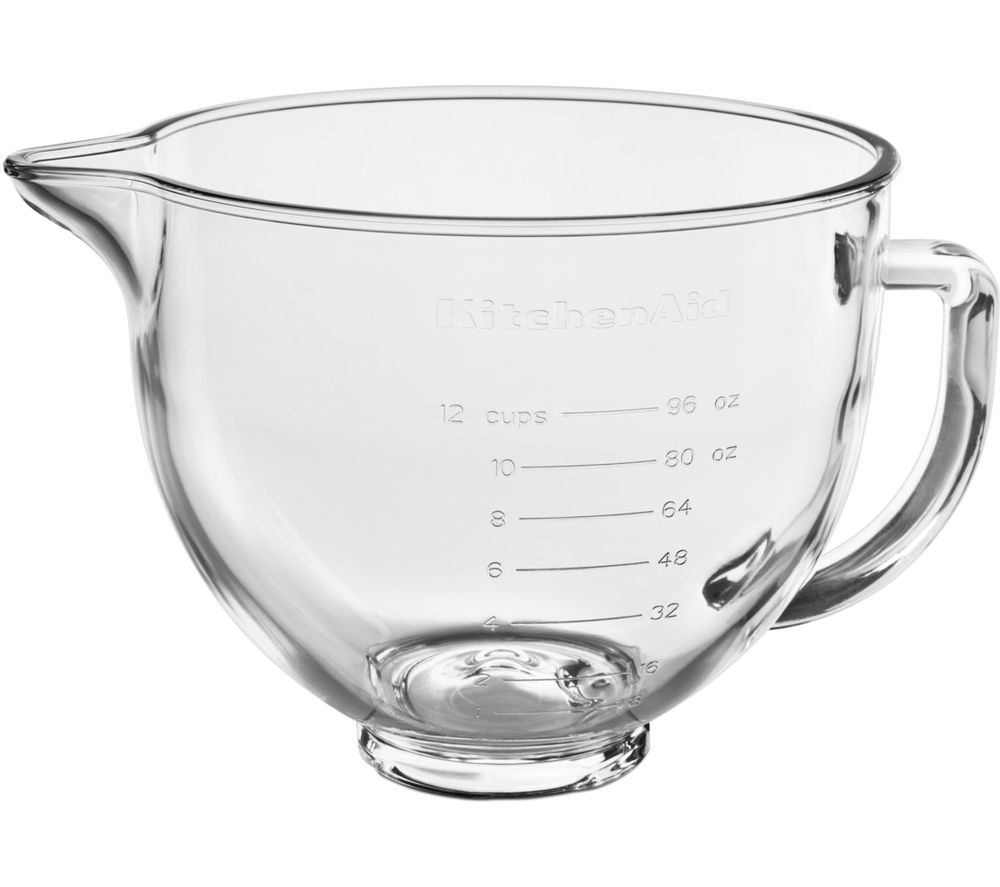 KITCHENAID 5KSM5GB 4.7 Litre Mixing Bowl - Glass