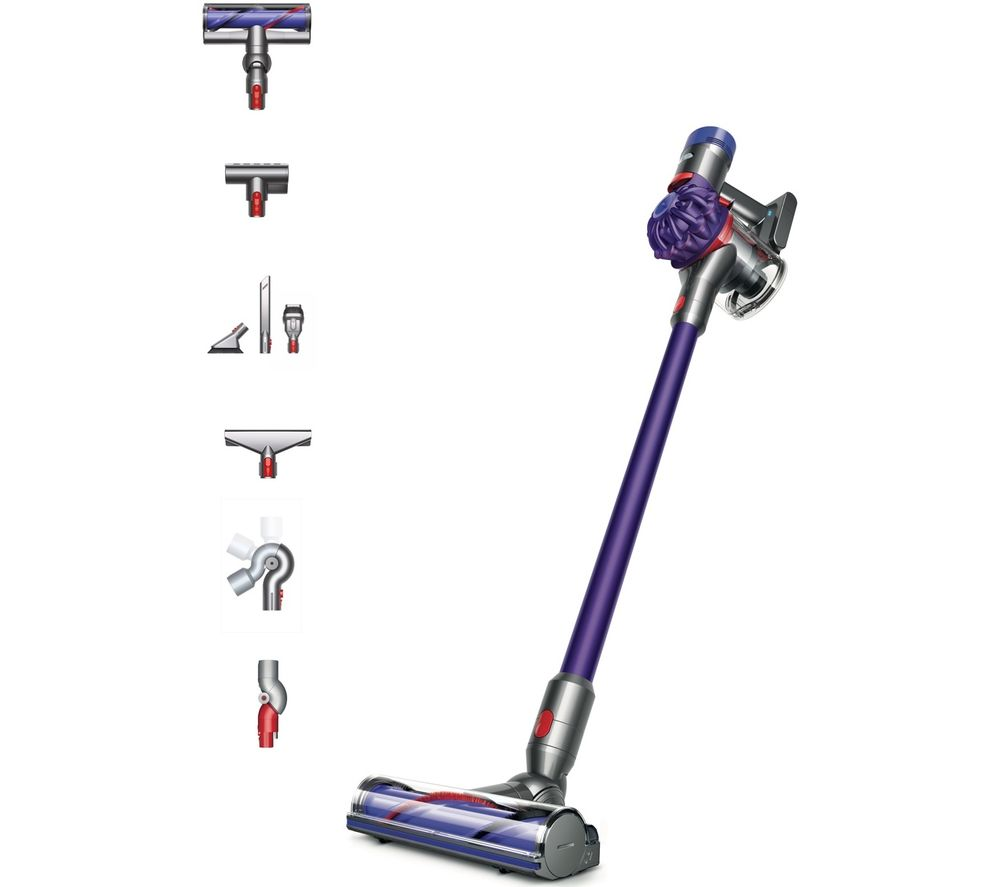 DYSON V7 Animal Extra Cordless Vacuum Cleaner - Purple, Purple