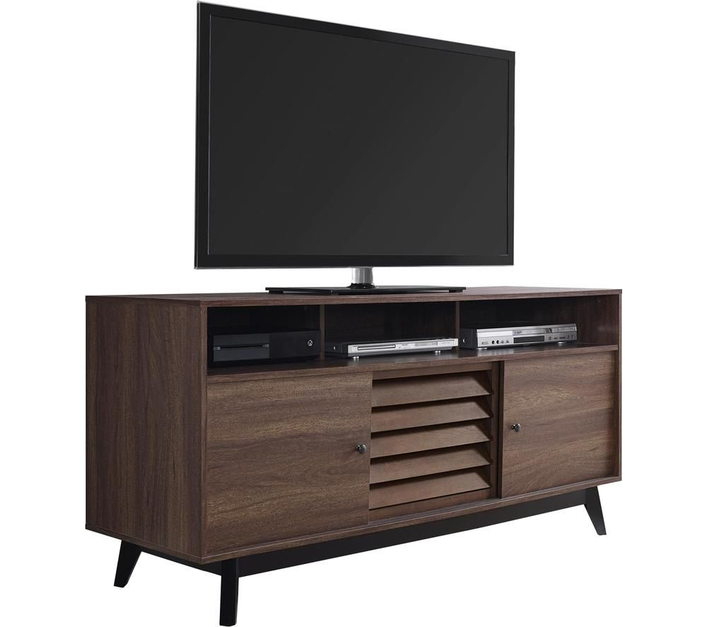 DOREL HOME Vaughn 1823096COMUK 1499 mm TV Stand - Walnut