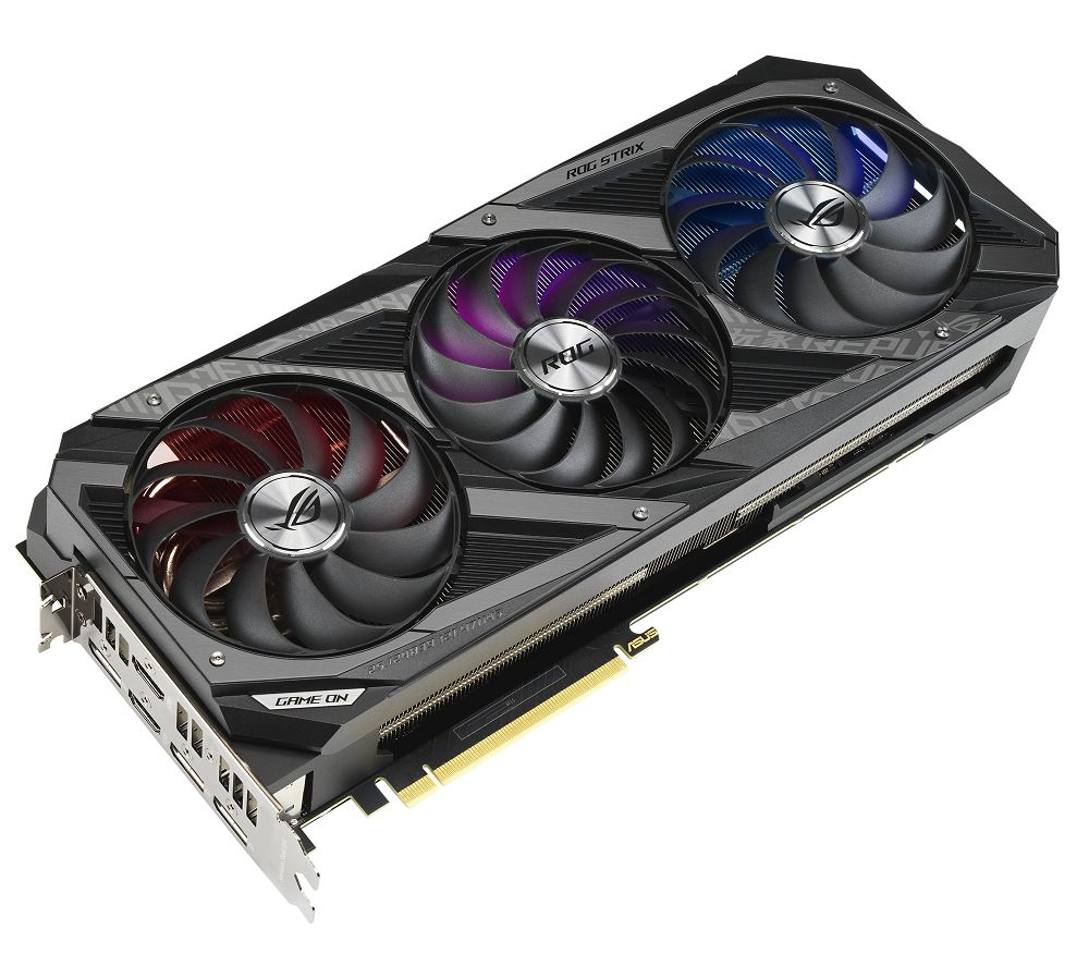 ASUS GeForce RTX 3070 8 GB ROG Strix GAMING OC Graphics Card
