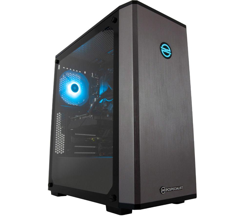 PCSPECIALIST Vortex GR Gaming PC - Intel® Core™ i3, GTX 1650, 1 TB HDD & 256 GB SSD