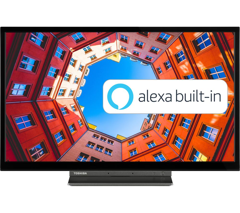 "32"" TOSHIBA 32WK3C63DB Smart HD Ready HDR LED TV with Amazon Alexa"