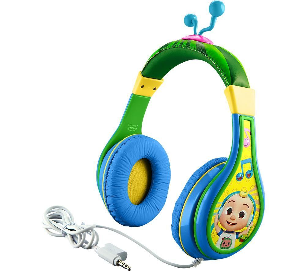 EKIDS Cocomelon CO-140 Kids Headphones - Green