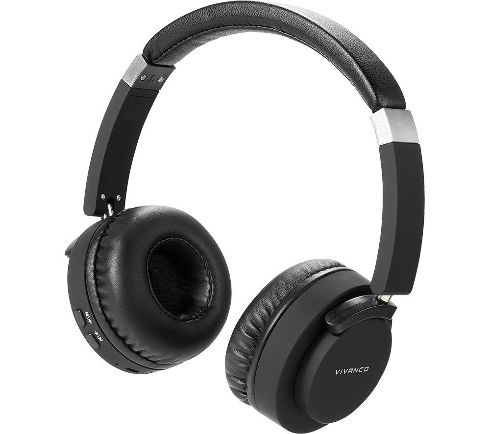 VIVANCO BTHP 260 Wireless Bluetooth Headphones - Black
