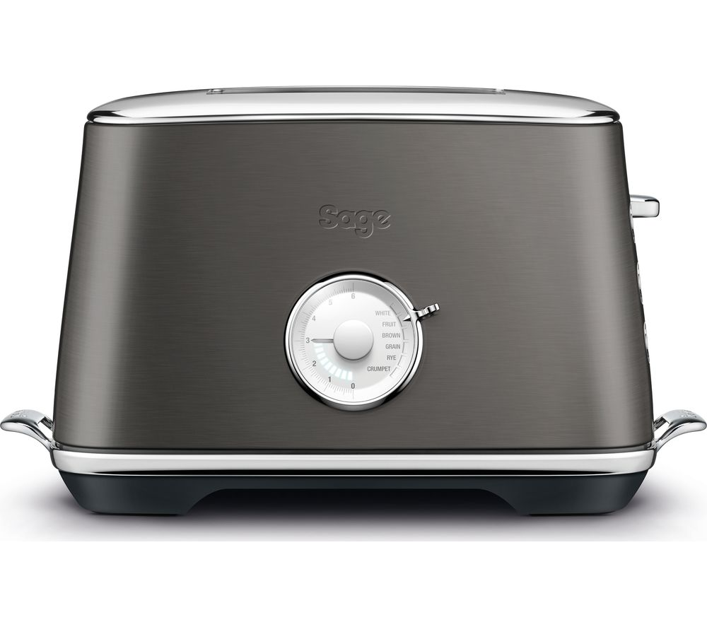 SAGE The Toast Select Luxe BTA735 2-Slice Toaster - Black Stainless Steel, Stainless Steel
